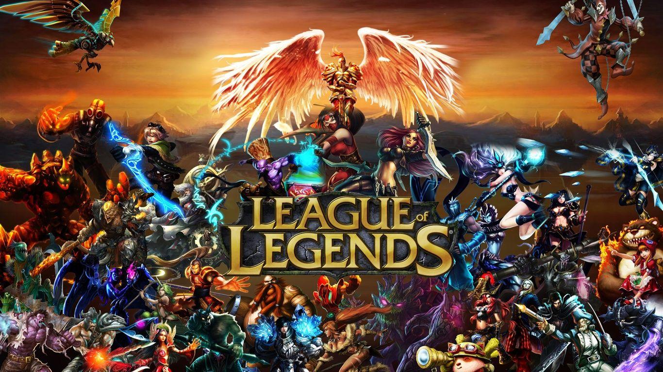 League Of Legends Wallpaper 1366x768 Wallpapersafari League Of Legends Play League Of Legends Lol League Of Legends