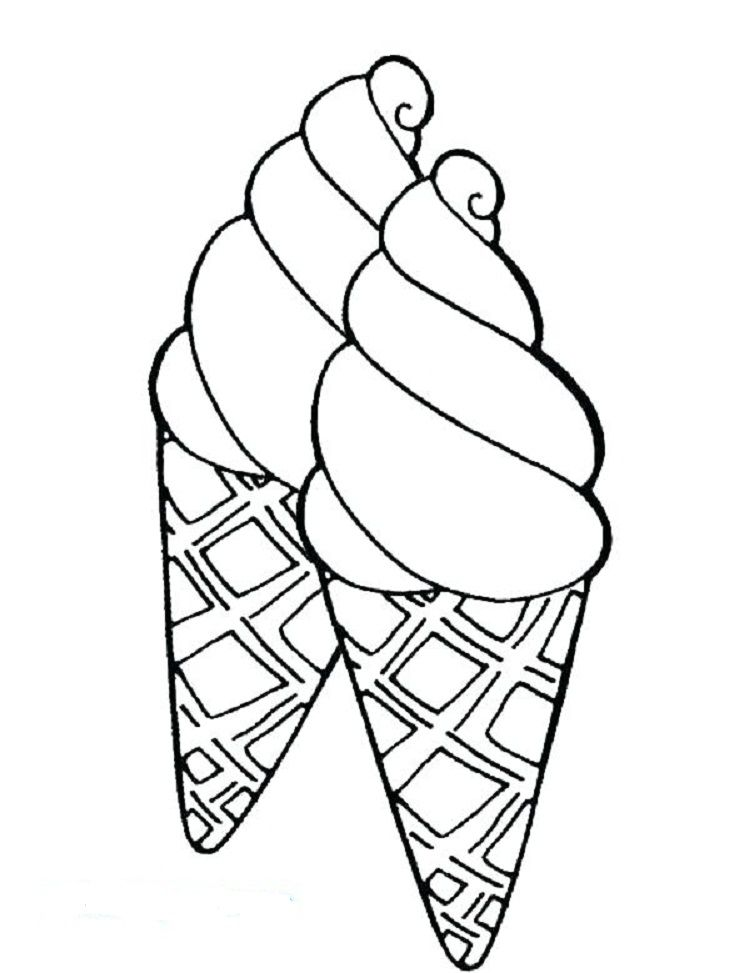 Preschool Coloring Pages Ice Cream Coloring Pages For Kids Ice