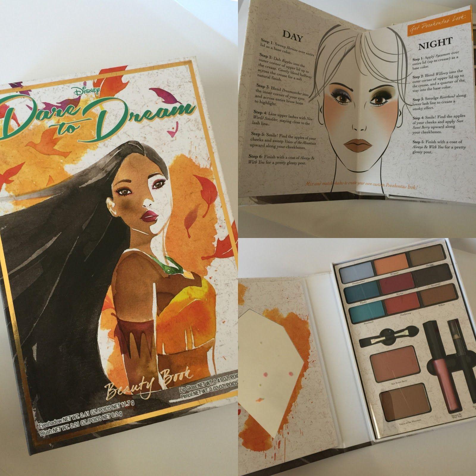 Red Lipstick Diaries Beauty book, Disney makeup