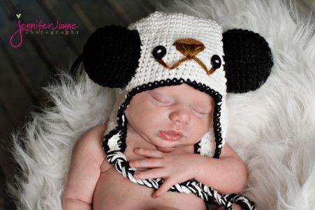 10 Crochet Animal Hats With Free Patterns Panda Crochet Panda And