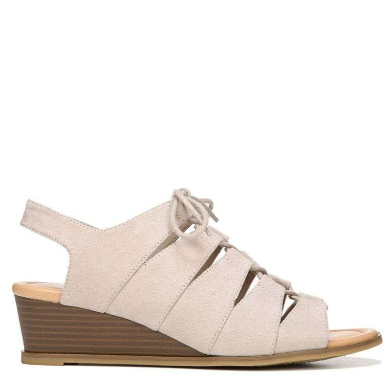 Dr. Scholl's Women's Court Lace Up Sandals (Simply Taupe)