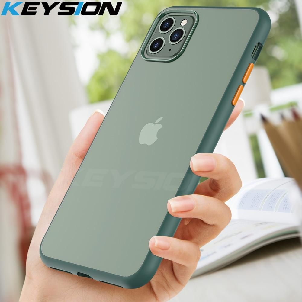 Keysion Fashion Matte Case For Iphone 11 Pro 11 Pro Max Shockproof Tra Joystore8 Iphone Iphone Cases Apple Iphone