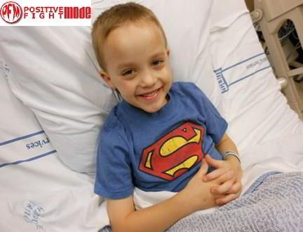 Support little Ian Gunnell battle Leukemia with his Positive Fight Mode Survival Straps gear!