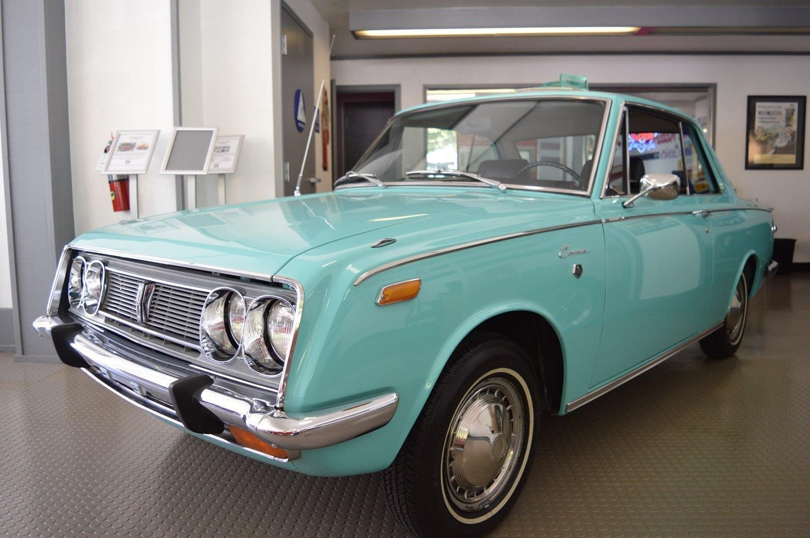 1969 Toyota Corona Coupe Rare Collector Car Fully Documented Amazing ...