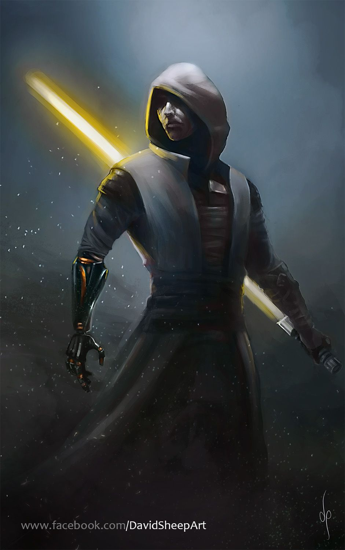 Star Wars Jedi Knight Art
