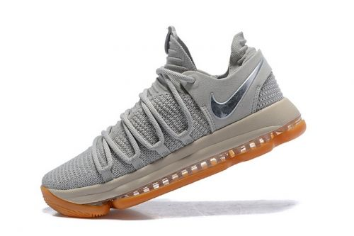 Newest Nike KD 10 Pale Grey Light Bone-Gum Mens Basketball Shoes 897817-001  For Sale - ishoesdesign 3756c381cd88