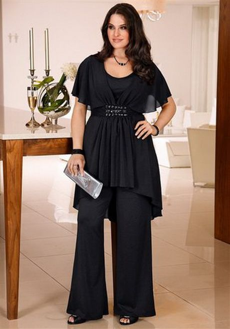 Elegante mode für mollige damen | Kleidung brautmutter