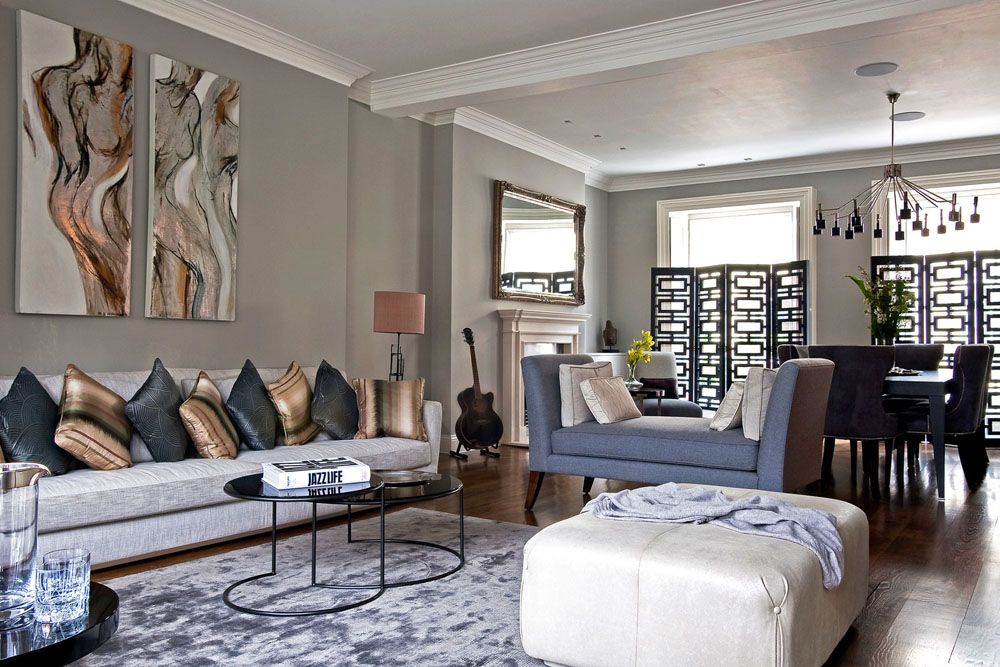 11 Modern Living Room Ideas To Upgrade Your Lifestyle Mymove Townhouse Living Room Decor Townhouse Interior Townhouse Decorating Modern townhouse living room ideas