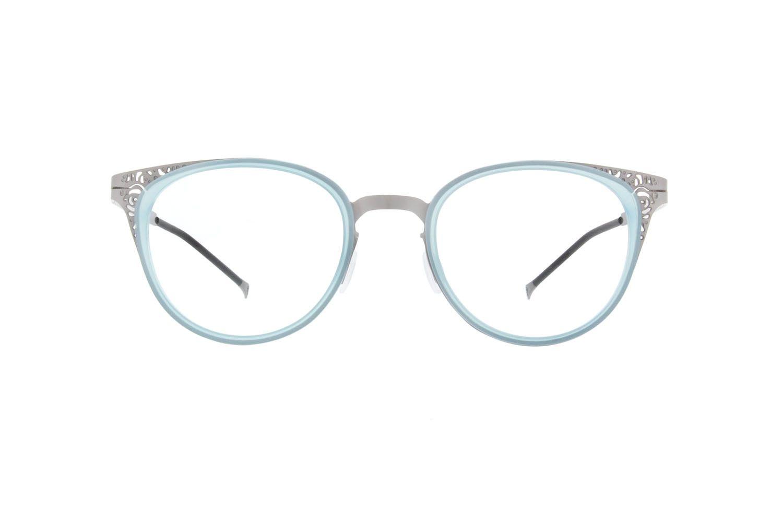 Blue Round Glasses #7813716 | Zenni Optical Eyeglasses | Pinterest