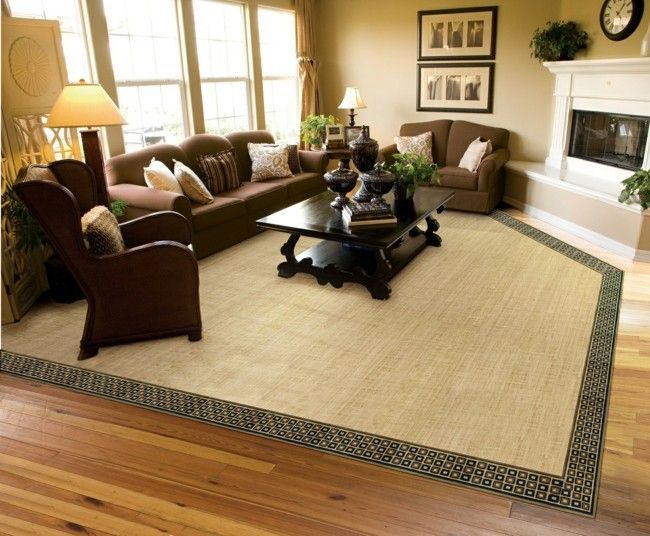 herrliches wohnzimmer stilvoll eingerichtet dunkelbraune. Black Bedroom Furniture Sets. Home Design Ideas