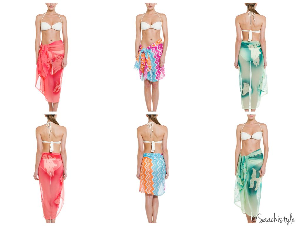 Make a statement in our beachwear sarongs...summer is in the air... -2014 Resort Collection