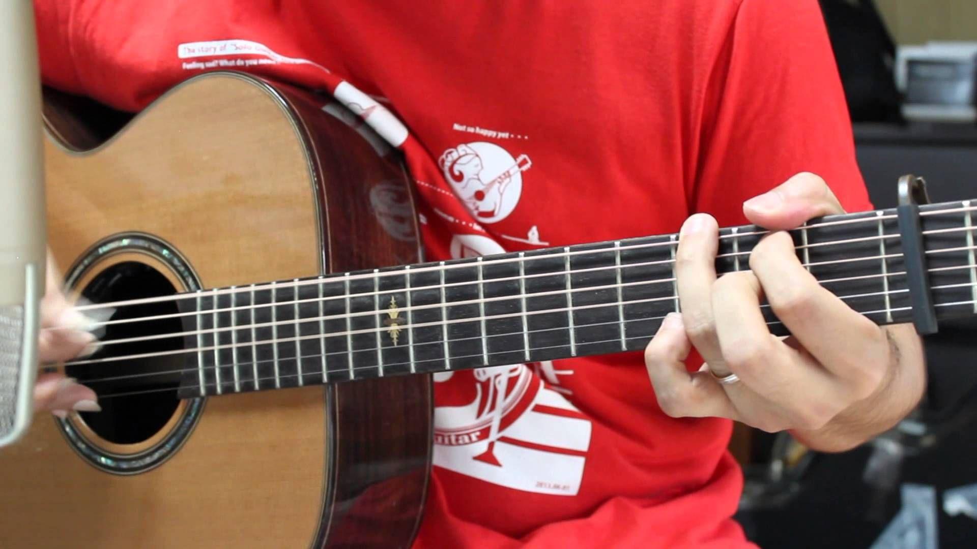 【ソロギター】「雨のち晴レルヤ」(ゆず) NHK朝ドラマ「ごちそうさん」主題歌 【TAB譜あり】