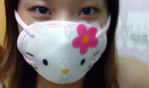 Medical Mask Hello Kitty Hello Kitty Merchandise Mask For Kids
