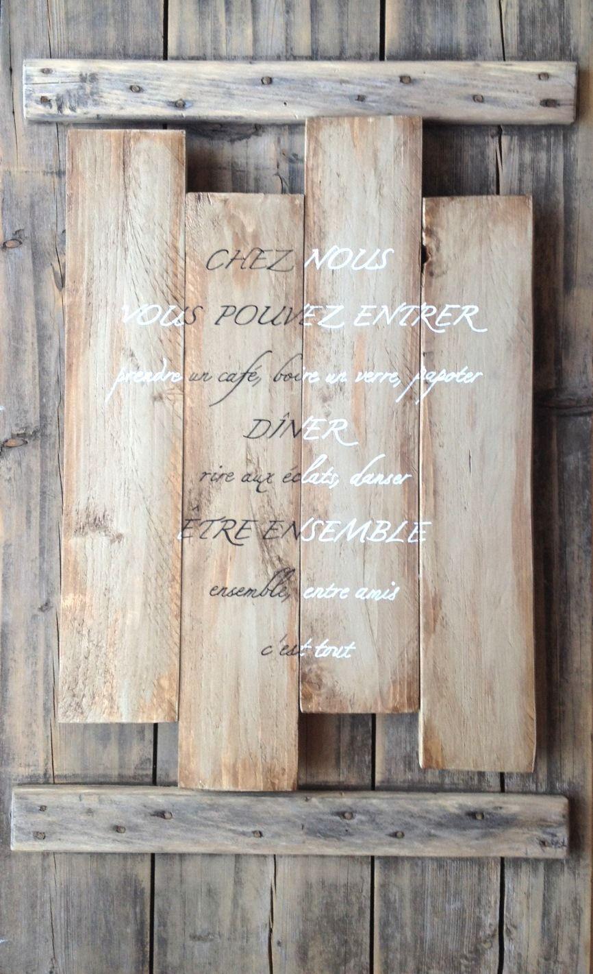sur commande panneau tableau personnalisable en bois de. Black Bedroom Furniture Sets. Home Design Ideas