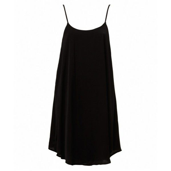 FLOATY SLIP DRESS (535 NOK) ❤ liked on Polyvore