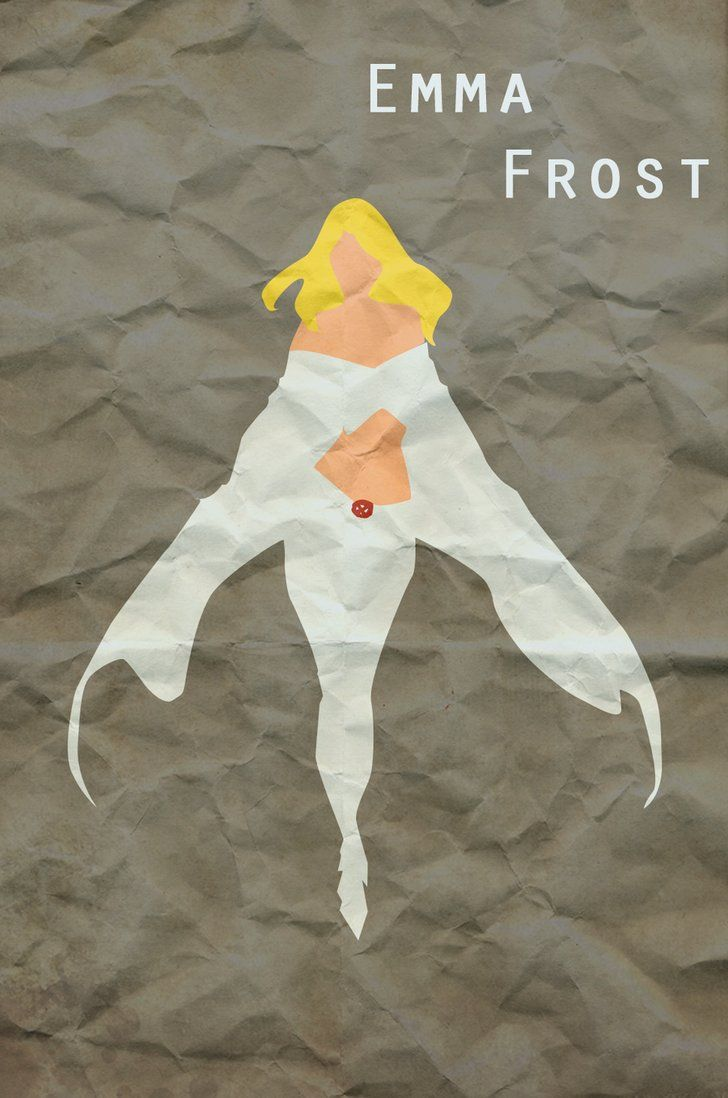 Emma Frost by Jonathan