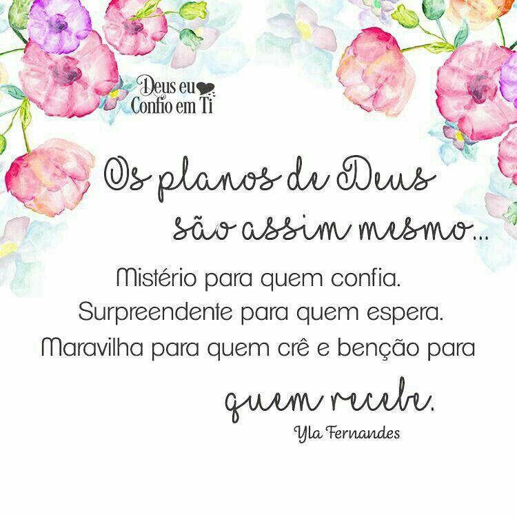Pin De Renata Em Deusmeu Pinterest Deus Plano De Deus E Frases