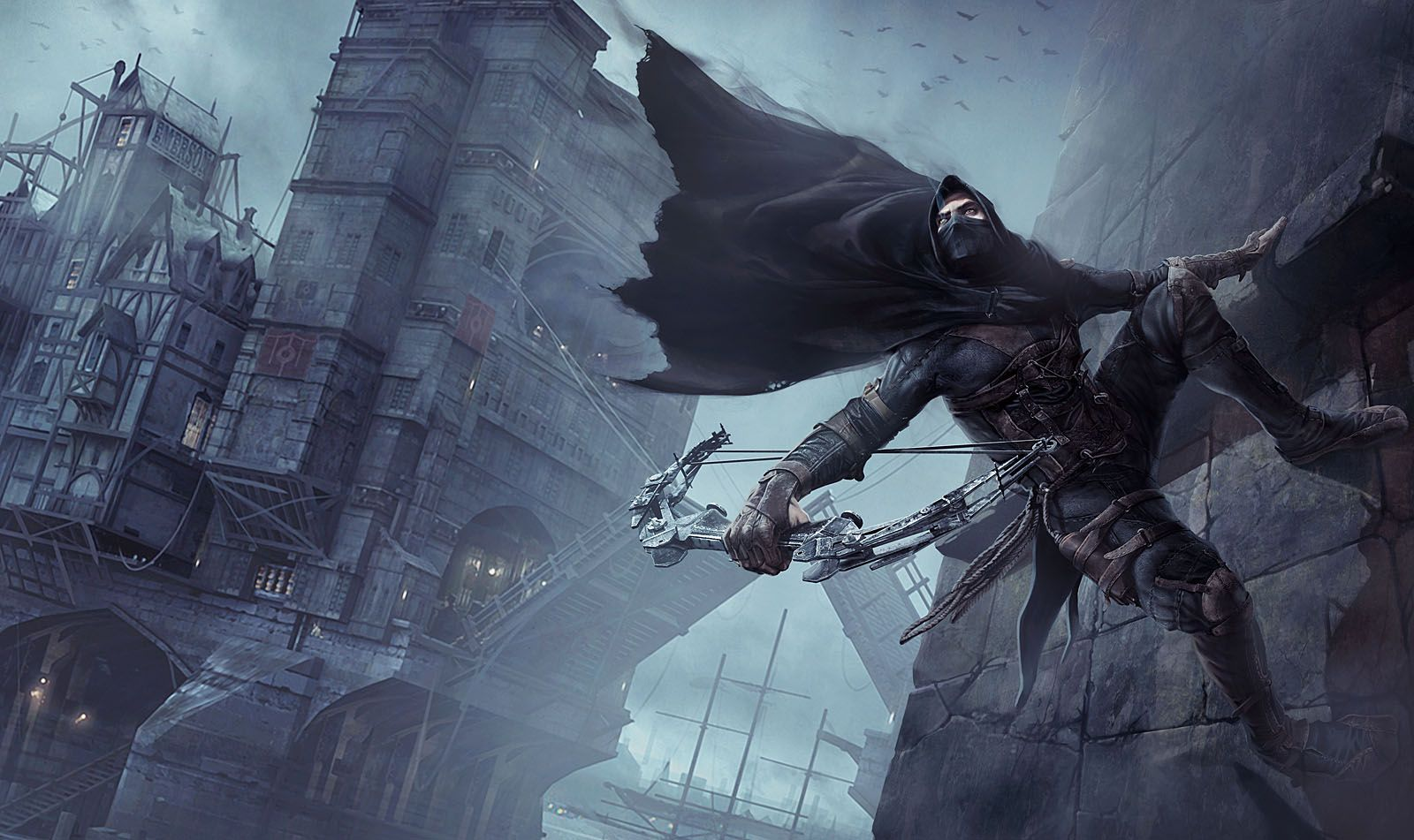 Thief Video Game Art By Arman Akopian Background