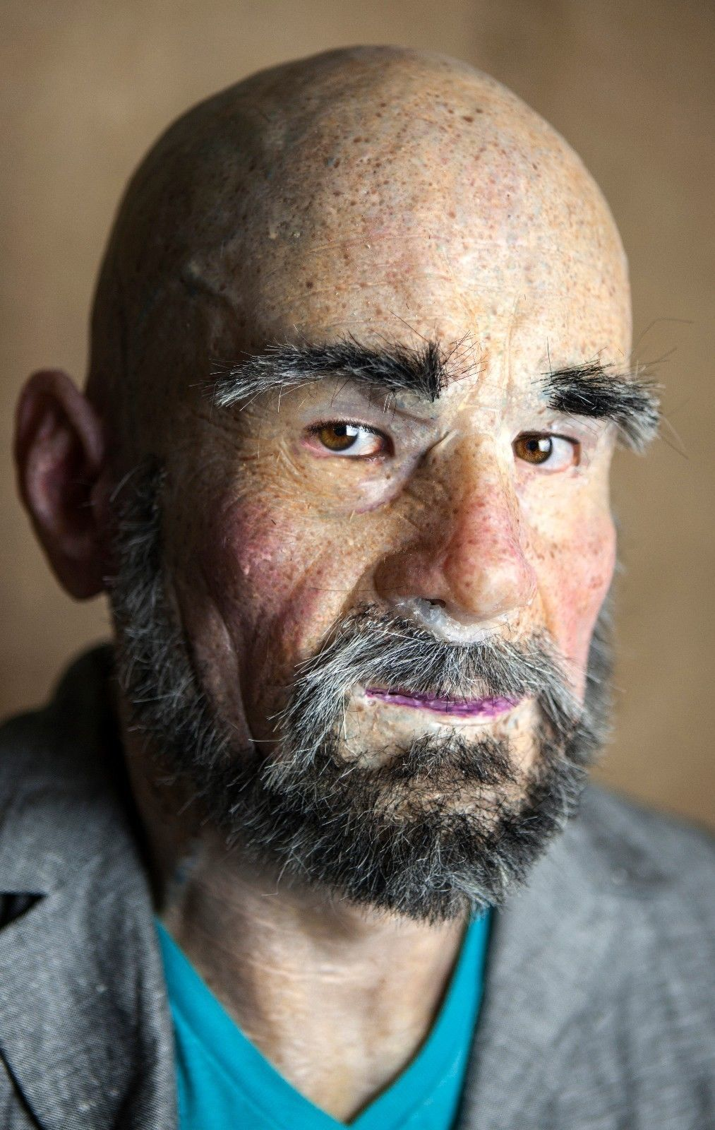 Silicone Mask Old Man