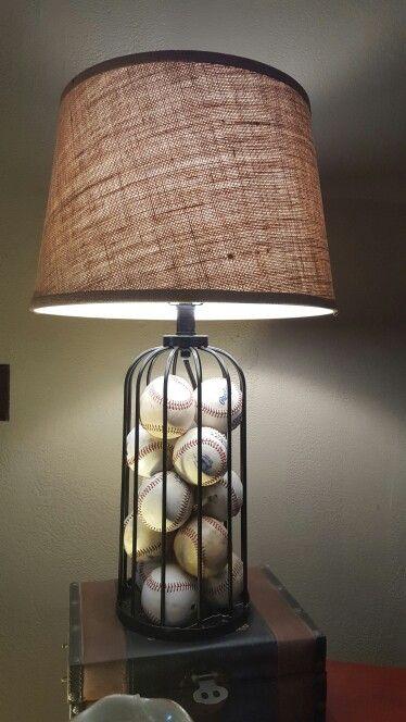 Baseball Lamp Things I Have Done Boy Room Baseball
