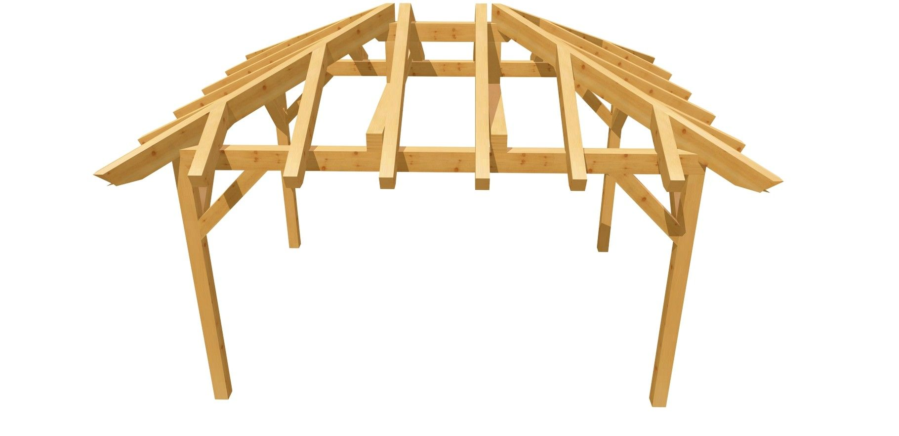 holz carport selber bauen anleitung 3m x 4m | baupläne für