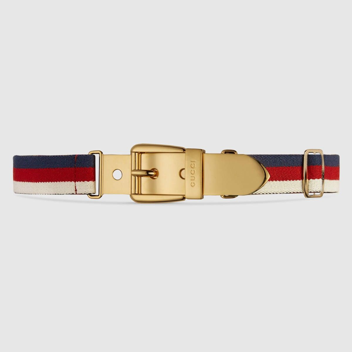 1288cc3c2910 GUCCI Web Belt With Square Buckle - Sylvie Web.  gucci  all