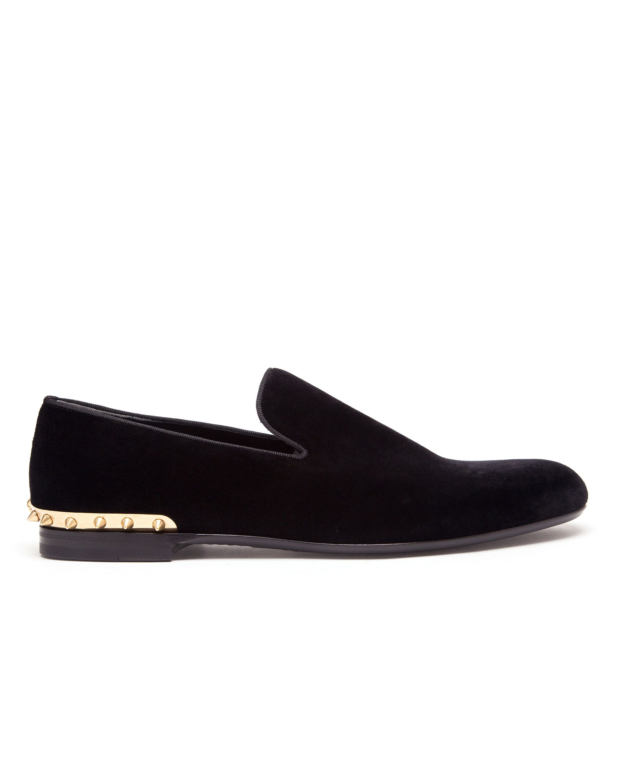 ALEXANDER MCQUEEN | Velvet Smoking Slippers | Browns