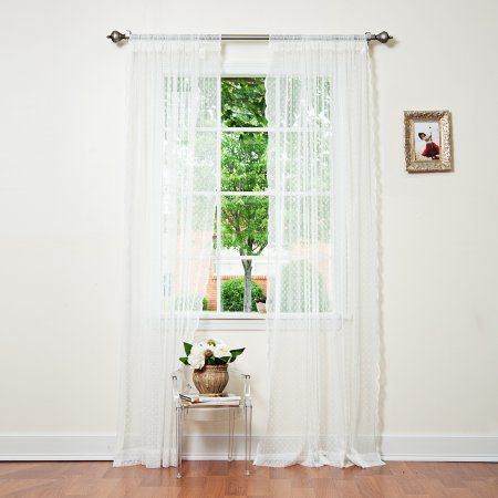 Home Lace Curtains White Sheer Curtains Curtains