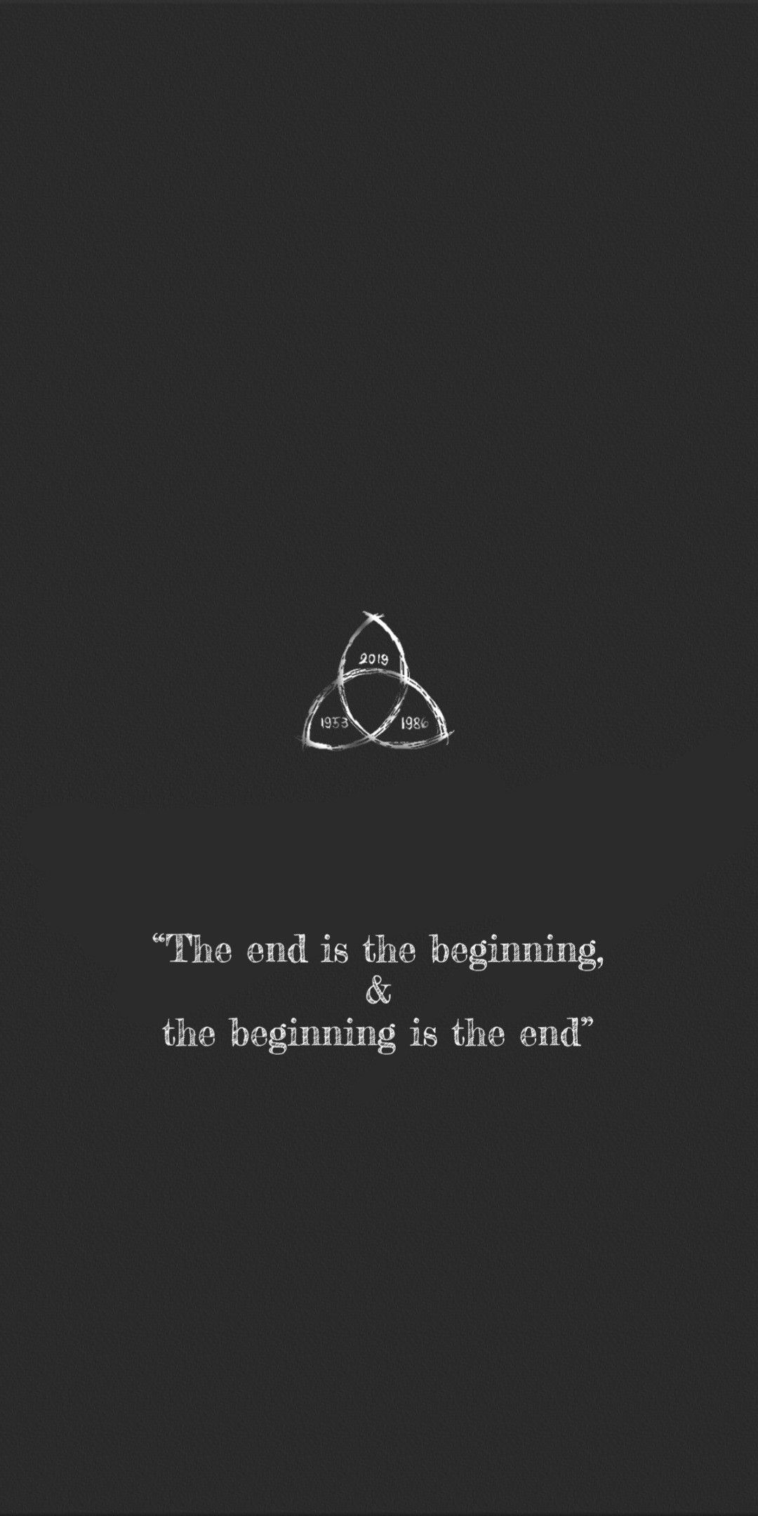 End Is The Beginning Dark Quotes Netflix Quotes Quotes