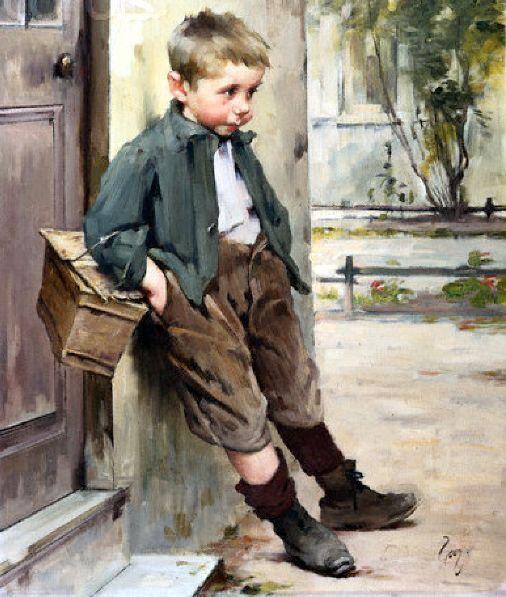 Henry Jules Jean Geoffroy (1853 – 1924, French)