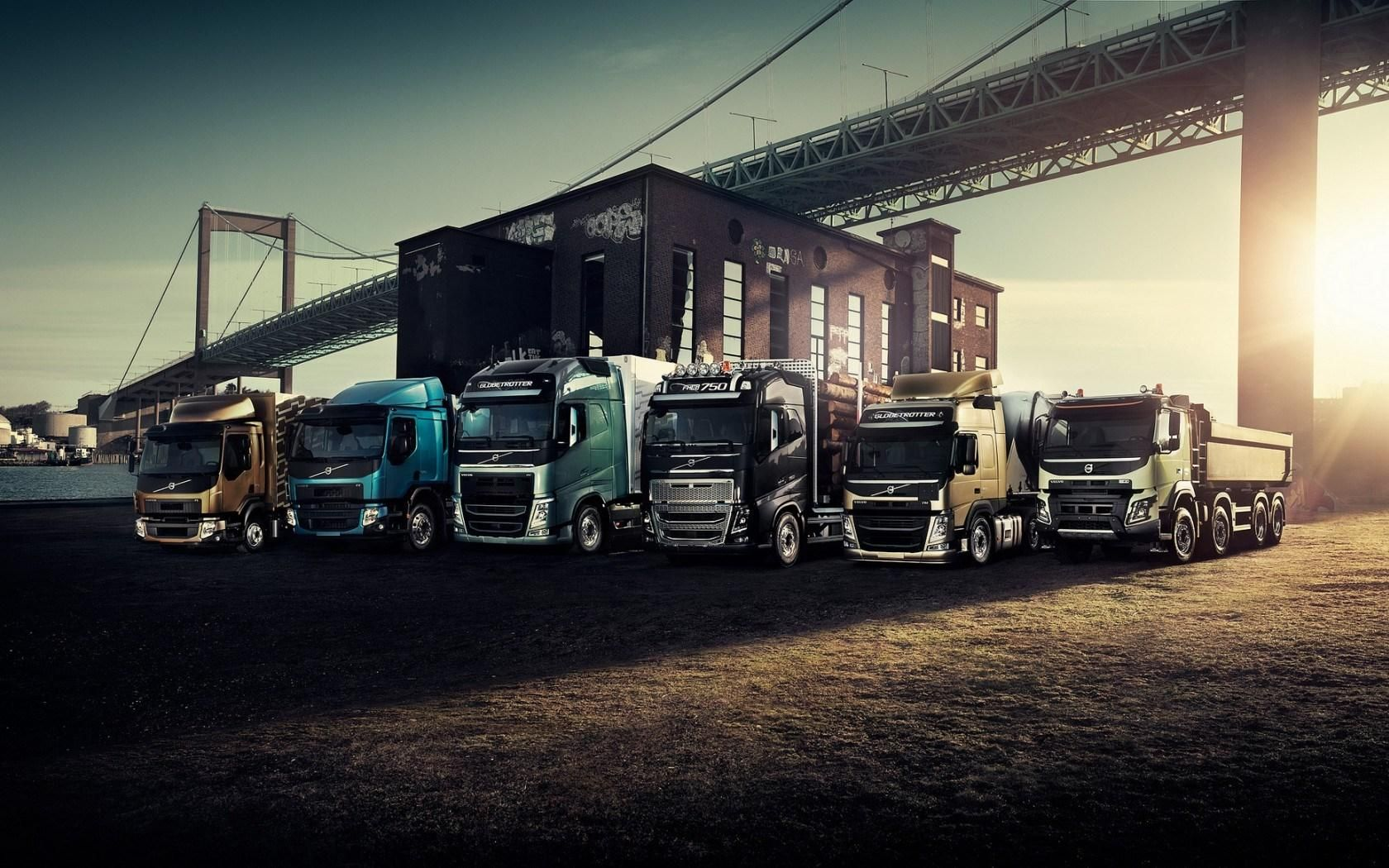 Volvo Truck Wallpaper Hd Ffc With Images Volvo Trucks Volvo