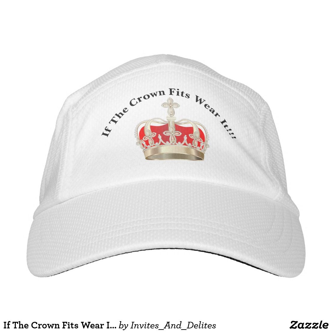 ae4948b489a If The Crown Fits Wear It White Cap