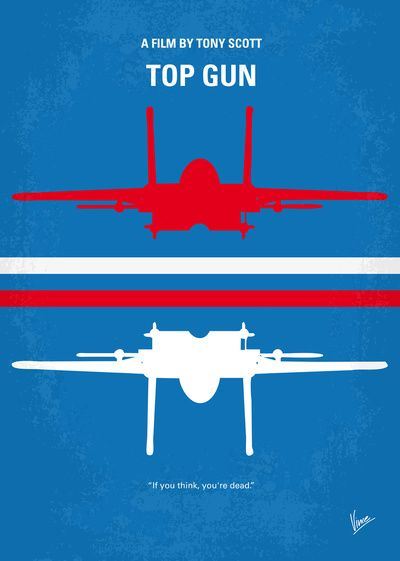 My TOP GUN minimal movie poster