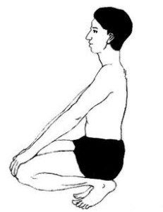 vajrasana a unique yoga pose to be done after meals