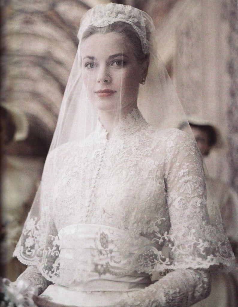images of princess grace's wedding - google search | vestits de