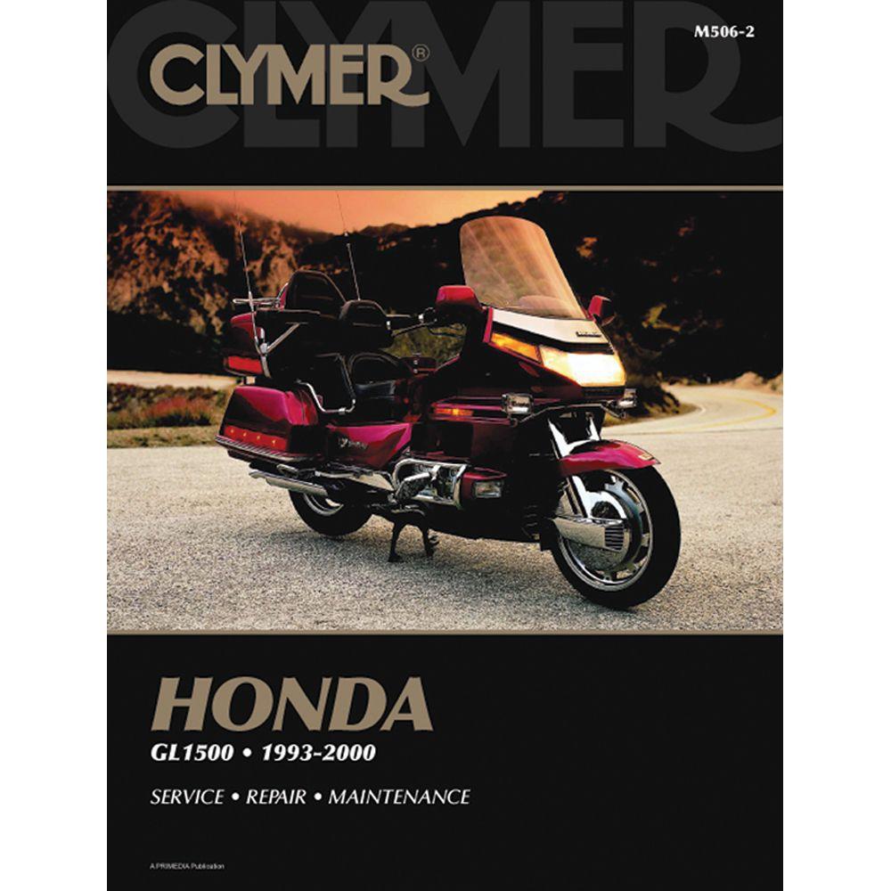 Clymer Honda Gl1500 Gold Wing 1993 2000 Boat Parts For Less Clymer Honda Repair Manuals