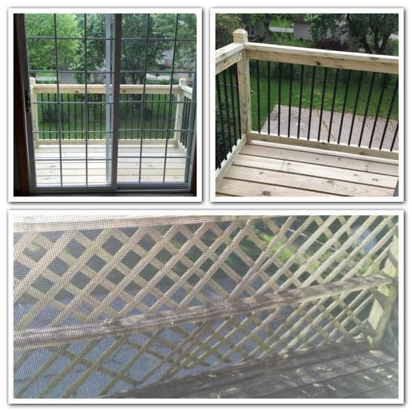 2nd Story Martini Deck Replacement Before After In Blue Springs Missouri By Shumate Building Co Frames On Wall Renovation Loans Exterior Paint