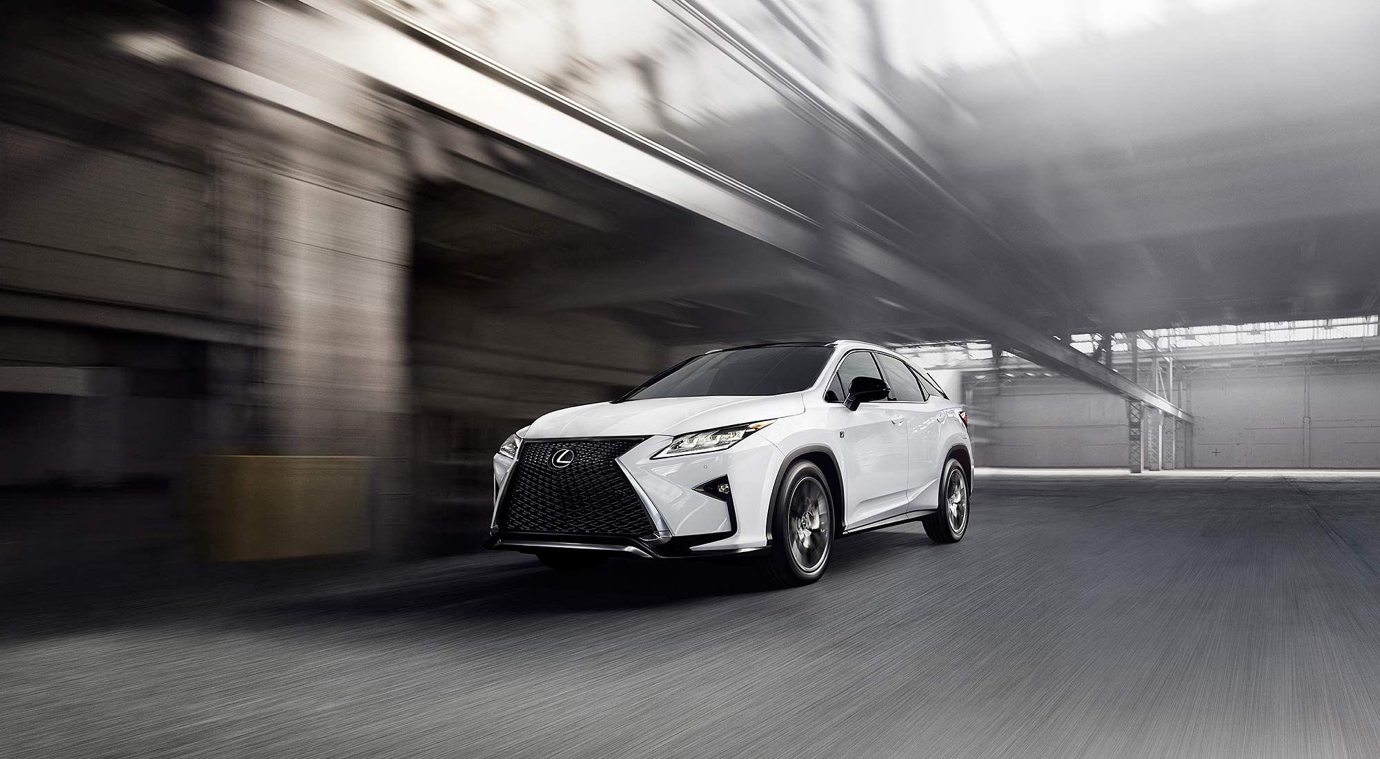 All new 2016 Lexus RX F SPORT / Le tout nouveau Lexus RX