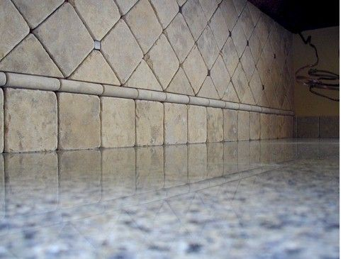Tumbled Travertine Backsplash Ceramic Tile Advice Forums John