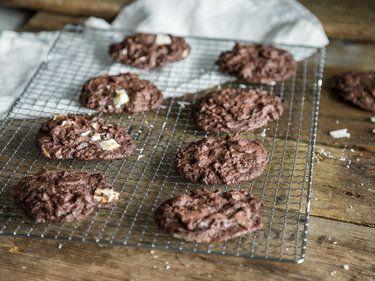 Hallo wach! Double Chocolate Chip Cookies mit Espresso