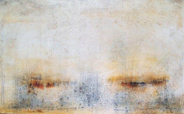 Scott Upton, New Day Dawning, 30x48, mixed media on canvas