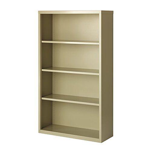 Hirsh 4 Shelf Bookcase In Putty