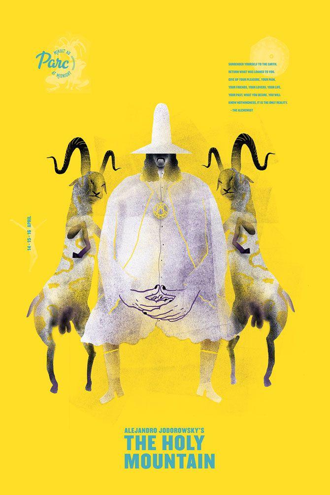 Applied Arts Mag - Editorial - Blog - Cinema du Parc's Midnight Movie Poster Madness