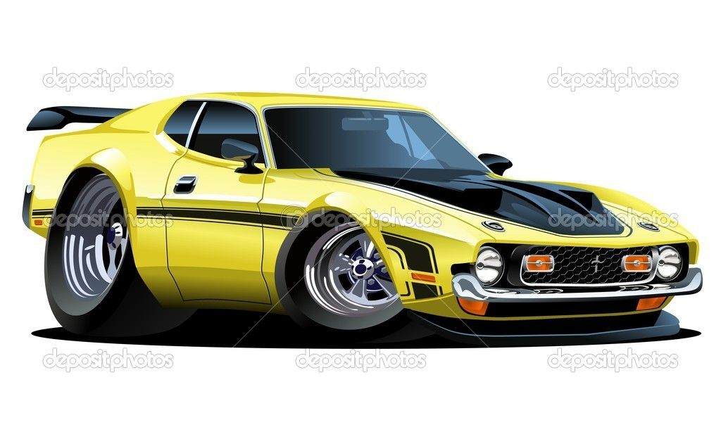 71 Mustang Mach1 Smoove Car Art Pinterest Muscle Cars