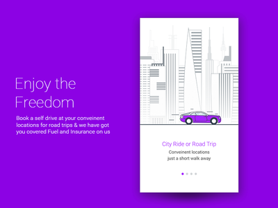 Self Drive Car Onboarding Self Driving Onboarding Driver App