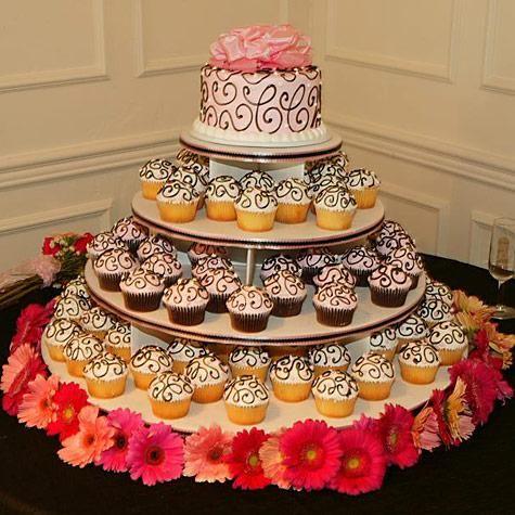 Wedding Cake Alternatives | Wedding cake cupcakes, Wedding cake and ...
