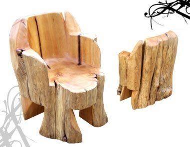 Arbol sagrado letreros tallados y muebles rusticos en for Muebles tallados en madera