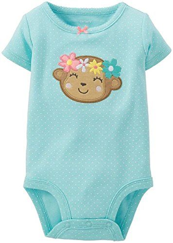 Carter S Green Monkey Bodysuit Newborn Carter S Https Www Amazon