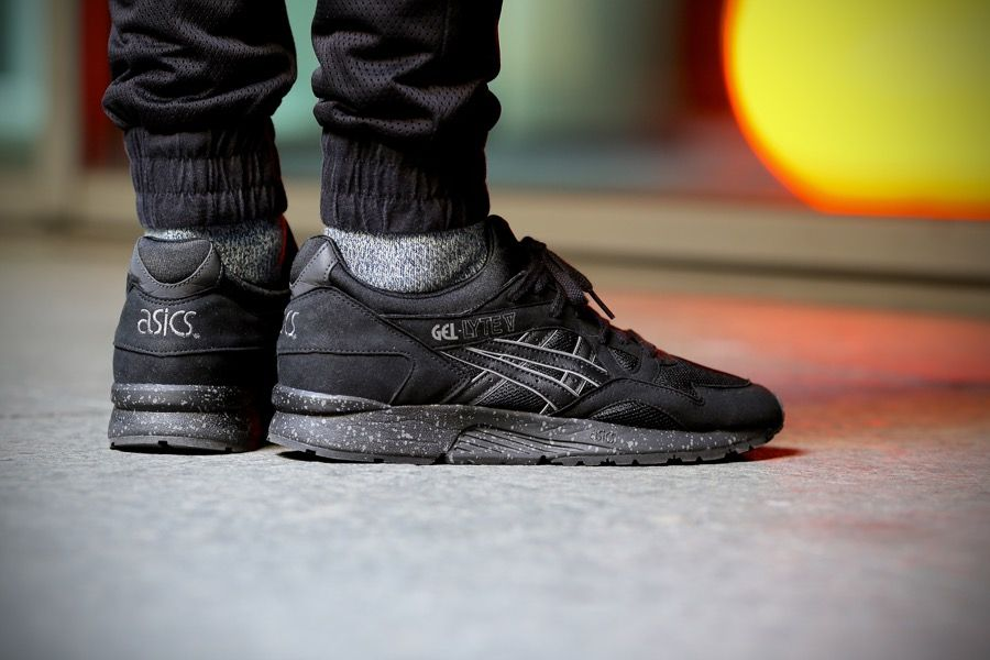 asics gel lyte 5 black speckle