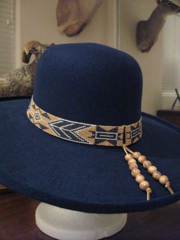 Red Panda Beads Miyuki 11 0 Delicas To Make Hat Bands Beaded Hat Bands Beaded Hat Band Patterns Hat Bands